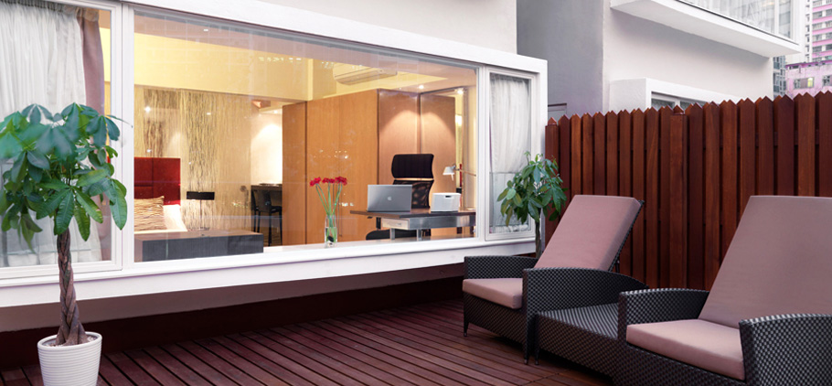 The Johnston Suites Serviced Apartment Design Features